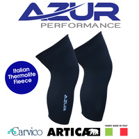 Azur Bike/Cycling Knee Warmers - Black - Various Sizes