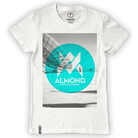 Almond BMX T-Shirt  - Antenna - White - S