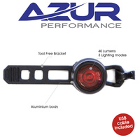 Azur Bike/Cycling Tail Light - Cyclops - USB Charge