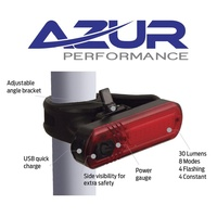 Azur Bike Tail Light - ET - USB Rechargeable - 30 Lumens