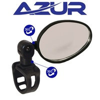 Azur Bike/Cycling Mirror -  Eagle - Flat - 66 x 44mm