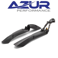 Azur - Bike/Cycling Mudguard Set W/Adjustable Rear - M2 Guard