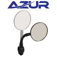 Azur Bike/Cycling Mirror - Owl - 73mm Diameter