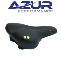 Azur Bike Seat/Saddle - Pro Range Delta - Adult - Black