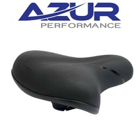 Azur Bike Seat/Saddle - Pro Range Gamma - Adult - Black