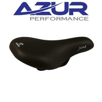Azur Bike Seat/Saddle - Pro Range Juna - Junior - Black