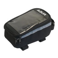 Azur Top Tube Bike Phone Bag - Waterproof - Black