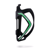 BBB FlexCage BBC-36 Bike Bottle Cage - Matte Black / Green