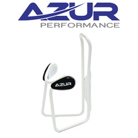 Azur Bike/Cycling Cage - Bidon/Bottle Cage - Deluxe - White