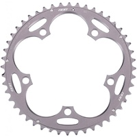 BBB RoadGear BCR-11 Bike Chainring 50T / 130 Dark Grey SRAM, Shimano to 2009