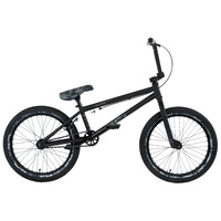 "Black Eye BMX Bike - 2021 20"" Commando - 20.5""TT - Matt Black / Snow Camo"