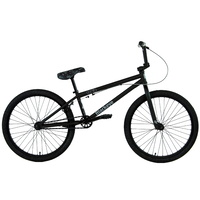 "Black Eye BMX Bike - 2021 24"" Cruiz - 22""TT - Matt Black / Grey"