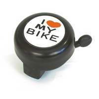 BC Bike/Cycling Bell - Alloy - I Love My Bike