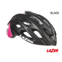 Lazer Bike/Cycling Helmet - Blade - Matte Black & Fluoro Pink - Large