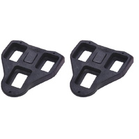 BBB Road Bike Cleats - RoadClip Fixed Cleats - Black