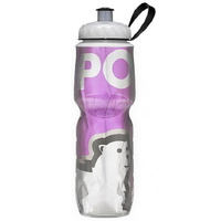 Polar Sport Water Bottle - 700ml Insulated - Big Bear Purple