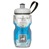 Polar Sport Water Bottle - 350ml Insulated - Fade Blue