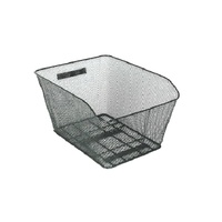 BPW Bike/Cycling Basket - Rear Basket - 41 x 33 x 25cm - Black