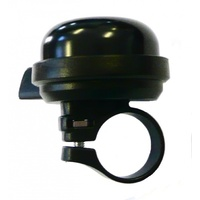 BPW Bike/Cycling Bell - Alloy With Plastic Base - 40mm - Fits 25.4mm - Black