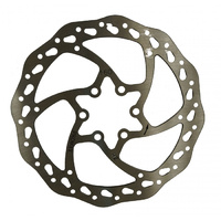 Promax Bike/Cycling Disc Rotor - Wave Design Includes Bolts - 160mm