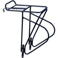 "Bor Yueh - Bike/Cycling Alloy Front Carrier - Adjusable For 24""-28"" Bikes"