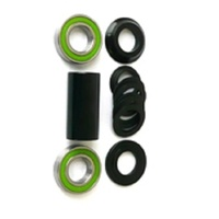 Defiant - BMX Bottom Bracket Set - 19mm - Spanish Type - Set of 10 - Black
