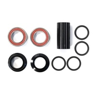 Defiant - BMX Bottom Bracket Set - 22mm - Spanish Type - Set of 9 - Black