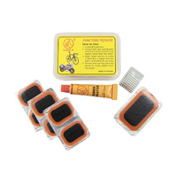 Thumbs Up Puncture Repair Kit includes 7 Patches and Glue