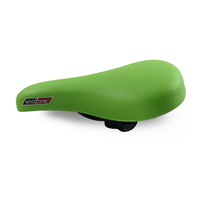 "EndZone Lime Green  Junior BMX Bike Seat 16"" / 20"" - Kids / Childrens Saddle"