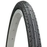 "Peugeot Bike Tyre - City & Touring Folding Tyre - 22"" x 1 3/8"" - Black"