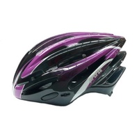 Profile - Bike/Cycling Helmet - Double In-Mould - 54-58cm - S/M - Purple/Blk