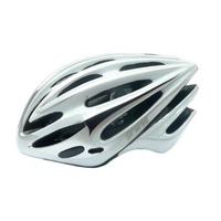 Profile - Bike/Cycling Helmet - Double In-Mould - 58/62cm - M/L - Silver/Wht