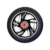 Bulletproof - Scooter Wheel - Single - Alloy Core - 110mm - Suit 8mm Axle - Black