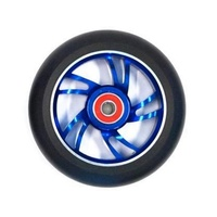 Bulletproof - Scooter Wheel - Single - Alloy Core - 110mm - Suit 8mm Axle - Blue