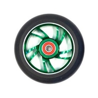 Bulletproof - Scooter Wheels - Alloy Core - 110mm - Suit 8mm Axle - Green