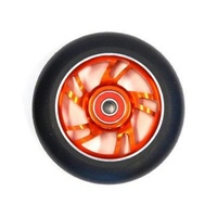 Bulletproof - Scooter Wheel - Single - Alloy Core - 100mm - Suit 8mm Axle - Orange