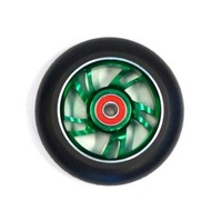 Bulletproof - Scooter Wheels - Alloy Core - 100mm - Suit 8mm Axle - Green