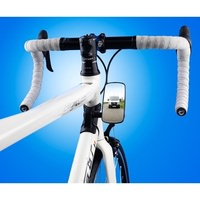 Bike Eye - Rear View Bike Mirror - Cycling Rear Safety Mirror - Large Size