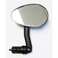Pro Series Bike/Cycling Mirror - Adjustable Bar-End Mirror - Right Side