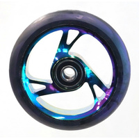 Bulletproof - Scooter Wheels - Alloy Core - 125 x 30mm - 12mm Axle - Metal Heat