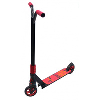 Bulletproof - SMX Park Scooter - Team Issue - Stunt - Alloy - Black/Ano Red