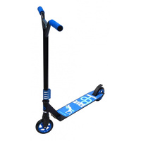 Bulletproof - SMX Street Scooter - Team Issue - Stunt - Alloy - Black/Ano Blue