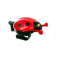 Bikes Up Bike/Cycling Bell - Ladybug Design Flick Bell - Fits 25.4mm BB