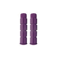 Pro Series Bike/Cycling Grips - MTB Closed End Grips - 120mm - Purple