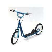"Holstar - Scooter - 16"" Kids Scooter - Mini Kick Stand - Blue/Blue"