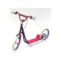 "Holstar - Scooter - 16"" Kids Scooter - Mini Kick Stand - Purple/Pink/White"