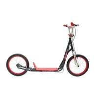 "Holstar - Scooter - 12"" Kids Scooter - Mini Kick Stand - Charcoal Grey/Red"