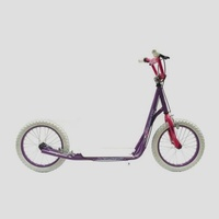 "Holstar - Scooter - 12"" Kids Scooter - Mini Kick Stand - Purple/Pink/White"