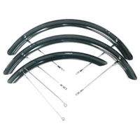 BPW Mudguard Set - For Gomier 2500 Series Tricycle - Black