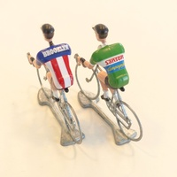 Flandriens© Original Hand Painted Models - Brooklyn & Sanson Jerseys